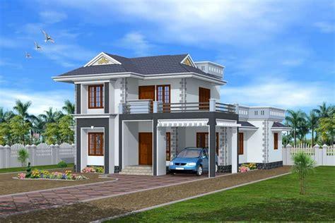 exterior design kerala house