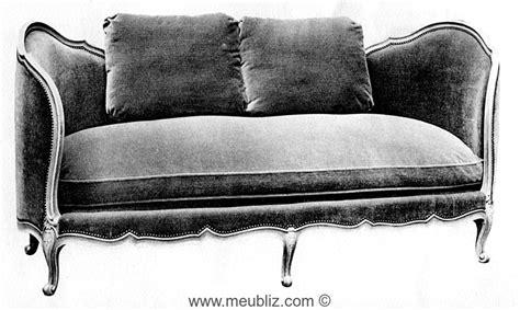 Ottomane Meuble by Ottomane Louis Xv 224 Cornes Meuble De Style