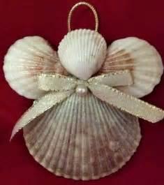 how to make seashell christmas ornaments