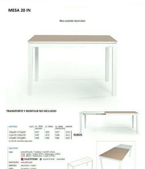 mesas y sillas tienda mesas tienda sillas mesas - Mesas De Cocina Medidas