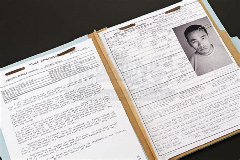 Prop Store Ultimate Movie Collectables Fbi Dossier Template