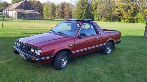 subaru brat 1984 subaru brat gl 4x4 4 speed for sale on bat auctions