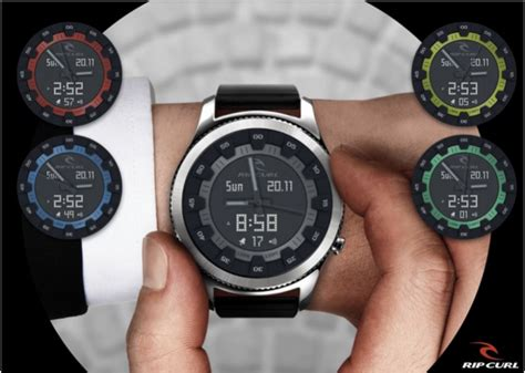 Kaos Rip Curl Rc 005 ripcurl watchfaces for smart watches
