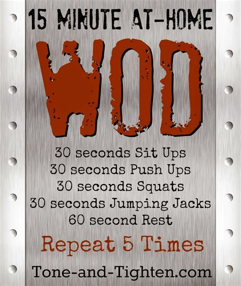 weekly workout plan the best of our workouts 30