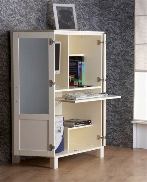 computer storage hideaway cabinet desk 30 best images about working station on