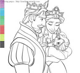 free coloring pages baby disney princess