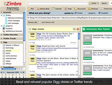 themes zimbra desktop zimbra org social zimlet