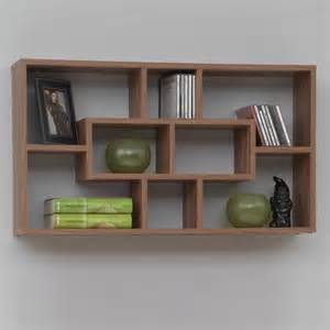 wooden wall bookshelves shelves contemporary display and wall shelves other