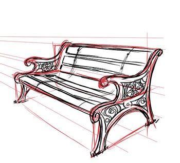 wie zeichnet eine wie zeichnet eine sitzbank dekoking