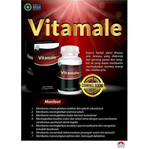 vitamale original hwi kapsul herbal khusus untuk pria