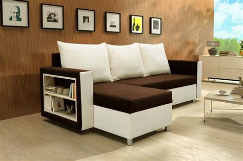 brown white sofa bed design homescorner