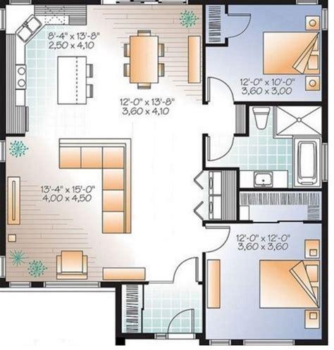 plano de casa de un piso 005jpg planos de casas sencillas de un piso y 2 dormitorios