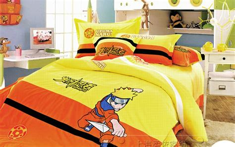 naruto bed set naruto bedding kids duvet covers twin bed set for children