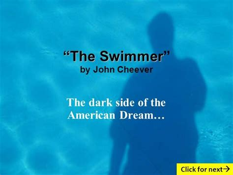 cheever  swimmer summary setting essay