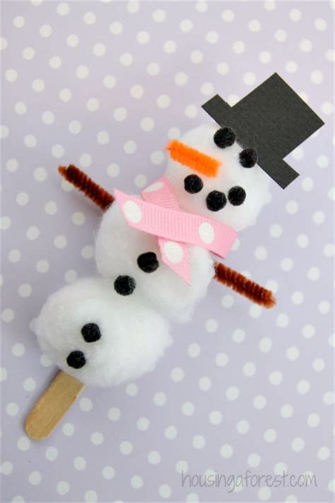 crafts with cotton balls cotton balls snowman crafts for toddlers
