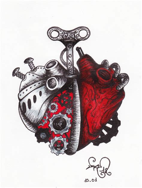 ekg heart tattoo tattoos 5446015 171 top tattoos ideas a clockwork by urumi on deviantart