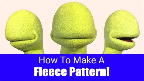How To Make A Puppet Out Of A Paper Bag - how to make a fleece pattern puppet building 101