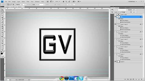 Box Outline In Photoshop by How To Make A Box Intro Photoshop Tutorial