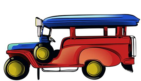 philippine jeep clipart jeepney on behance