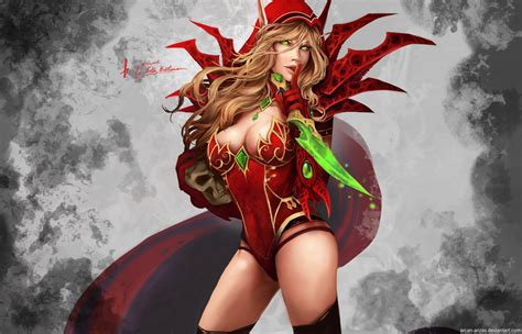 Warcraft Valeera Sanguinar By Arcan Anzas On Deviantart