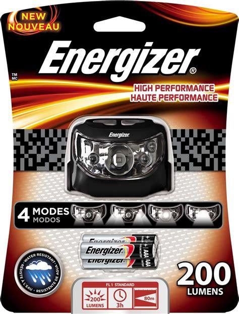 Headl Energizer Headlight 4 Led 2 Mode Cahaya Terang Free Baterai energizer 7 led industrial headl sports outdoors