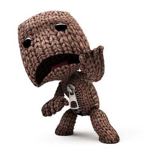 best big planet sackboy character bomb