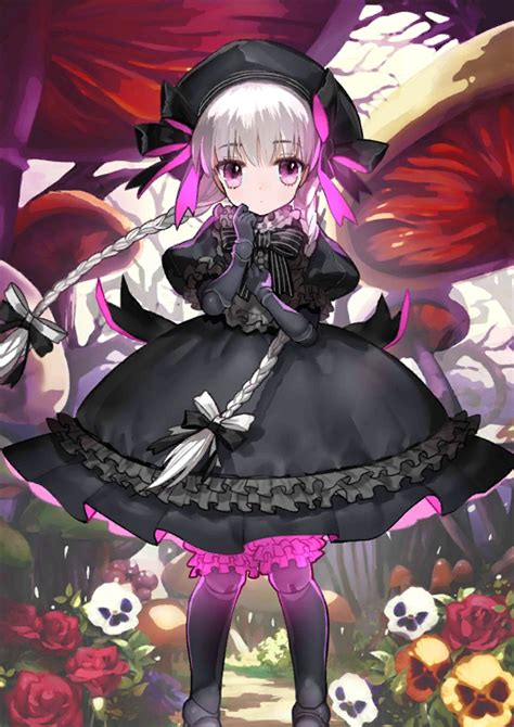 fate grand order card template caster caster nursery rhyme fate image 2125766
