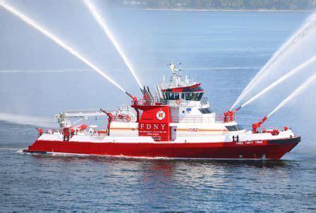 fireboat white fdny marine company 36 χρονια πυροσβεστικα 36 years in