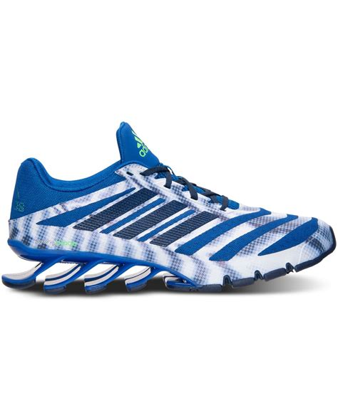 lyst adidas s springblade ignite running sneakers from finish line in metallic for