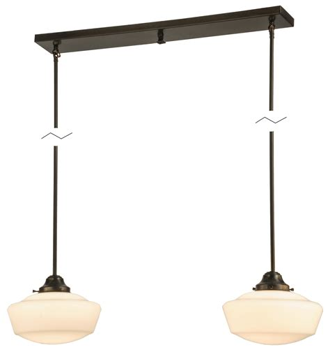 Schoolhouse Lighting Fixtures Meyda 147635 Schoolhouse Multi Pendant Fixture