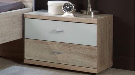Glass Bedside Drawers by Bedroom Furniture Sets 187 Artemis 2 Drawer