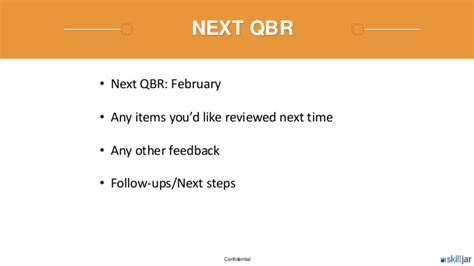 customer success quarterly business review qbr template