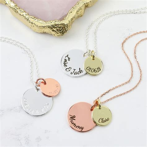 Makeup Jewelry Charming Or Disaster Waiting To Happen by Personalised Disc Charm Necklace