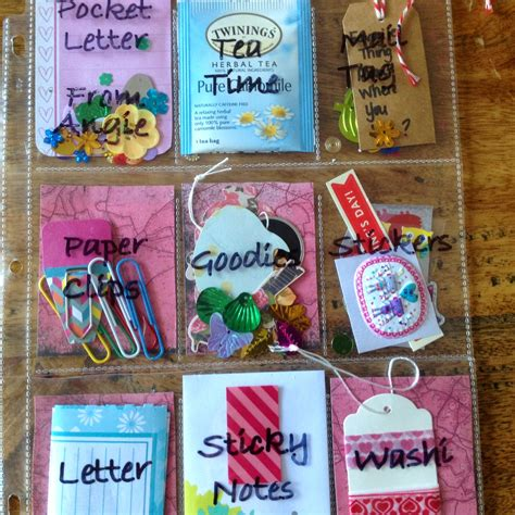 Gift Ideas Letter D My Style To A Tea Pocket Letters A New Way To Send Snail Mail