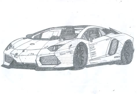 lamborghini aventador drawing outline lamborghini veneno drawing coloring pages
