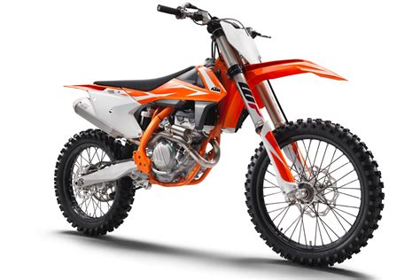 Kaosbajutshirt Ktm Motor Troy Bikers ktm announces 2018 sx f motocross bikes 7 fast facts