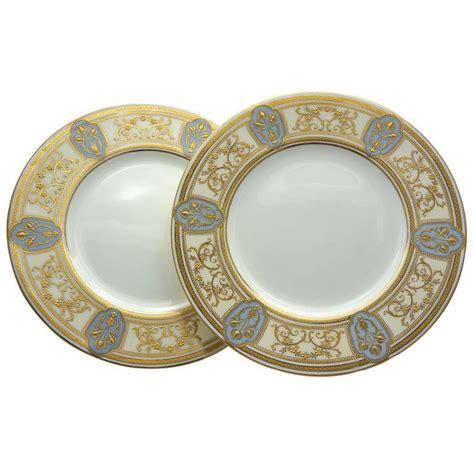 gold dining set plates set of 12 minton nouveau dinner plates w raised gold