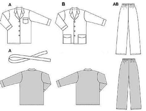 pattern cutting made easy review burda 2691 pyjamas