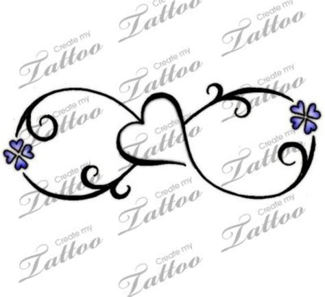 design your own infinity tattoo 17 best ideas about infinity tattoos on pet
