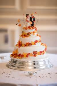 autumn leaves wedding cake divine wedding cakes