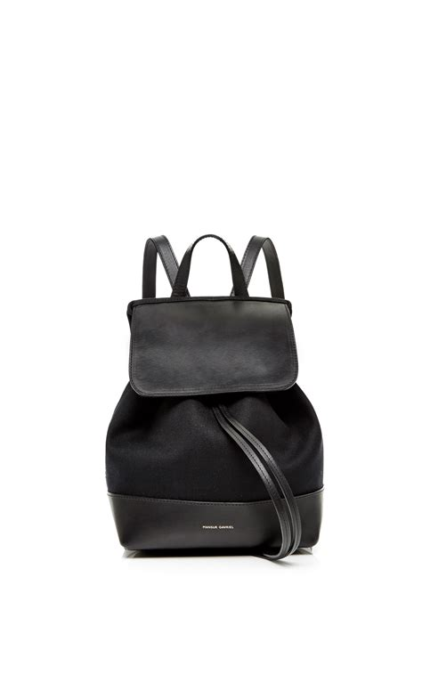 Tas Jansport Canvas Mini Bc mansur gavriel canvas mini backpack in black with