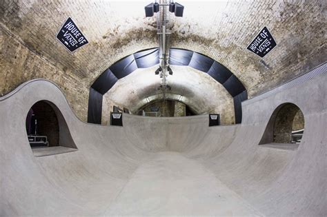 house of vans house of vans skatepark opens beneath london s waterloo station