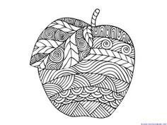 apple coloring pages for adults 1000 images about coloring pages autumn on pinterest