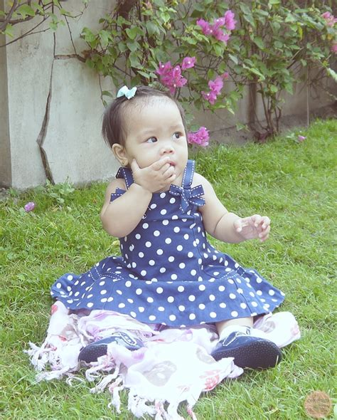 Bellbird Dress Anak Polkadot wackystill episode 9 and fabskye ootb in blue polka dot reigningstill