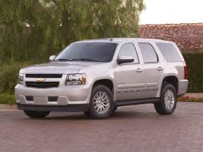 Chevrolet Suv 2011 2011 Chevrolet Tahoe Hybrid Price Photos Reviews