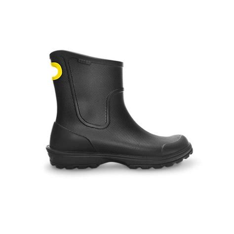 crocs boots mens crocs crocs wellie black n16 mens boots crocs