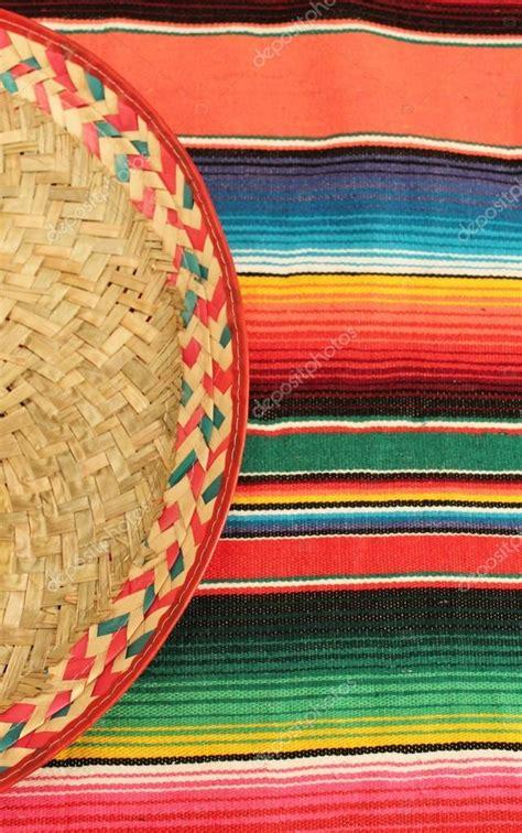 alfombra mexicana alfombra de poncho mexicano fiesta en colores brillantes