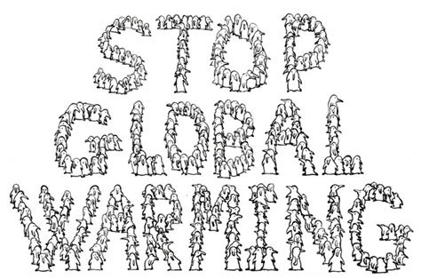 global warming easy coloring pages