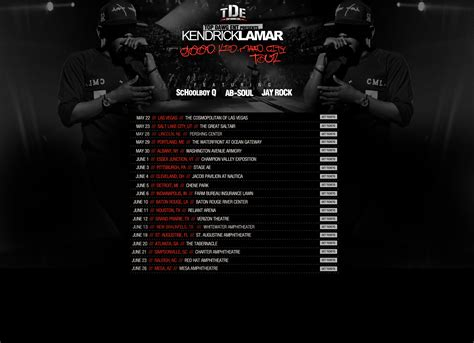 kendrick lamar tour dates video kendrick lamar keeps the west coast spirit alive