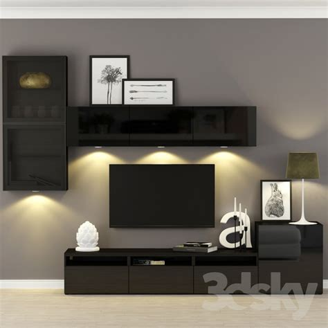 besta furniture 3d models other furniture for tv multimedia ikea